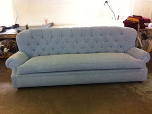 denver upholstery couch - long