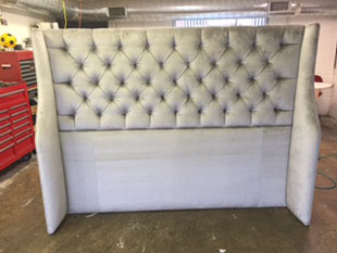denver upholstery headboard finish